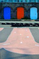 Coloured Doors & Path