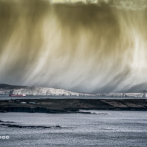 Storm over Bressay