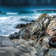 Scousburgh beach