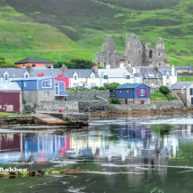 Reflections in Scalloway