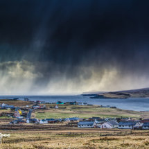 Storm hits Sandwick