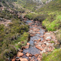 Burn at Muckle Roe