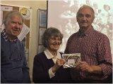 3rd Greg Perks with Joan Robinson & Chairman Ray McKenna