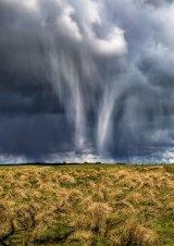 HC Storm Over Thockrington Village : Paul Saint