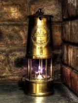 Commended Wor Davie's lamp : Syd Henderson