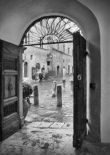 HC Courtyard Doors : Lynn Kerr