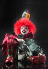 Highly commended The clown : Jim Kirkpatrick