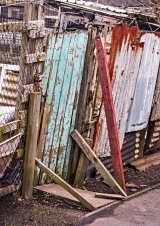 Com Allotment Door : Ian Holmes