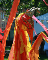 Recycled Tent Phoenix @ Bristol Harbour Festival