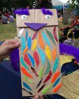 Paper Bag Puppets @ Bristol Harbour Festival