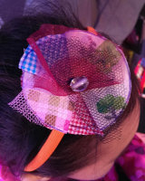 Upcycled Flower Hairbands @ West End Live/Street Style Surgery