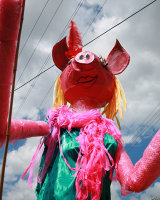 Lady Muck - Giant Puppet @ St Werburghs Farm Fair