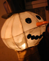 Frosty Lantern @ Picton Street Xmas Fayre