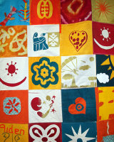 Largescale Patchwork Wallhanging - Commission for Wellspring HLC
