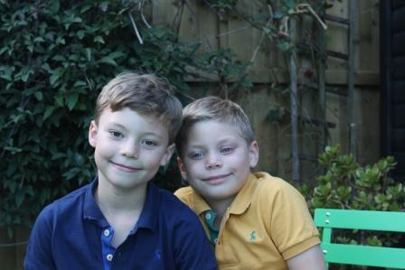 Original photo of the boys
