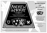 Guardians of Scotland Trust - Andrew de Moray panel 1 version 2