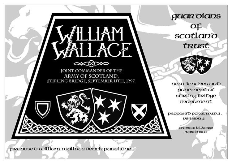 Guardians of Scotland Trust - William Wallace panel 1 version 2
