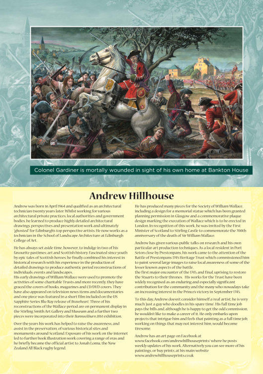 Battle of Prestonpans 1745 Heitage Trust Brochure page 1