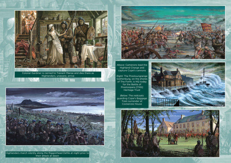 Battle of Prestonpans 1745 Heritage Trust brochure 2