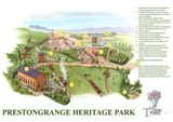 Prestongrange Heritage Park, perspective drawing