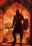 William Wallace Raises His Head at Lanark, May, 1297.