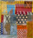 'Jersey Girl' (mixed media on paper) 2013 37cmx43cm