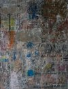 'Crossing Bleecker Street' (mixed media on paper) 2016 32cm x 42cm