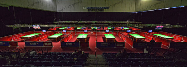 World Snooker Qualifiers - Ponds Forge, Sheffeld