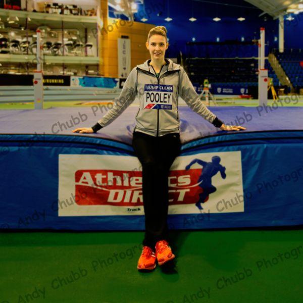 Isobel Pooley, Press call, UK Indoor Championshis