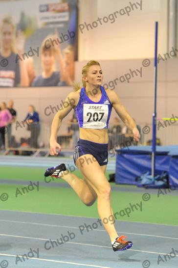 Louise Bloor, Trafford AC, Women's 60m