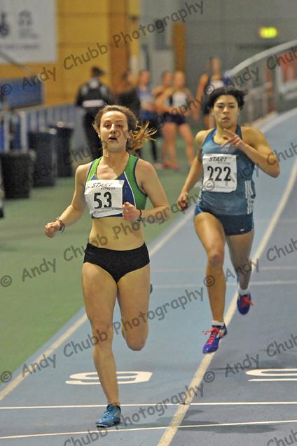 Kristie Edwards, City of Sheffield, U20 200m