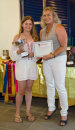 Champion Junior Equitation Under 12 Years - Spicelands Trophy.  Jess Hosier.