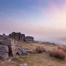 Dawn At Belstone Tor