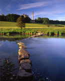 Stepping stones to cement works