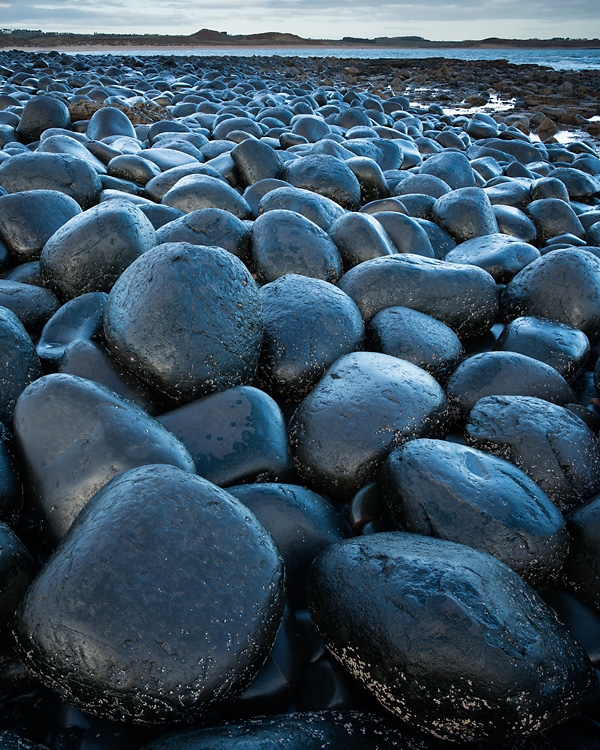 Boulders in Blue, Embleton Bay