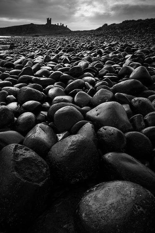 Boulders, Dunstanburgh Castle
