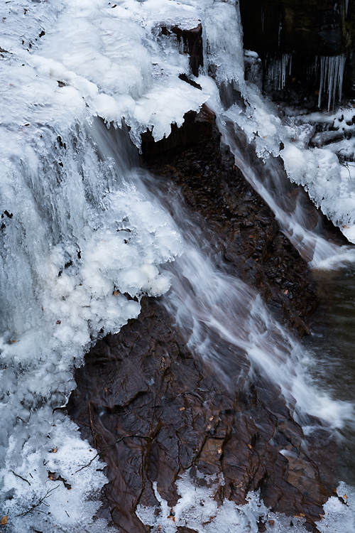 Frozen Waterfall, Roddlesworth