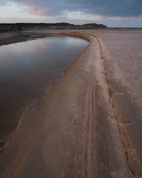 Riverbank, Beadnell Bay