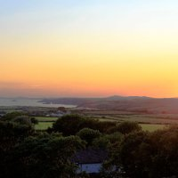 Sunset over Pembrokeshire