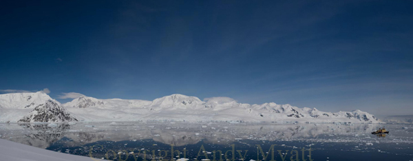 Neko Harbour Panorama Antarctica