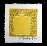 Bottled Yellow Lino Cut