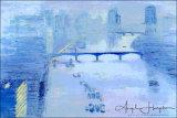 Impressionist Moods Blue Thames London