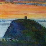 boscastle lookout, sunset