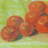 Sweet Clementines Painting
