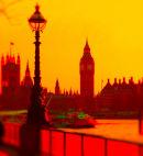 London - Sunset hues