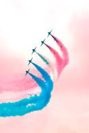 Red Arrows Pink