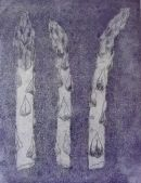 Asparagus etching