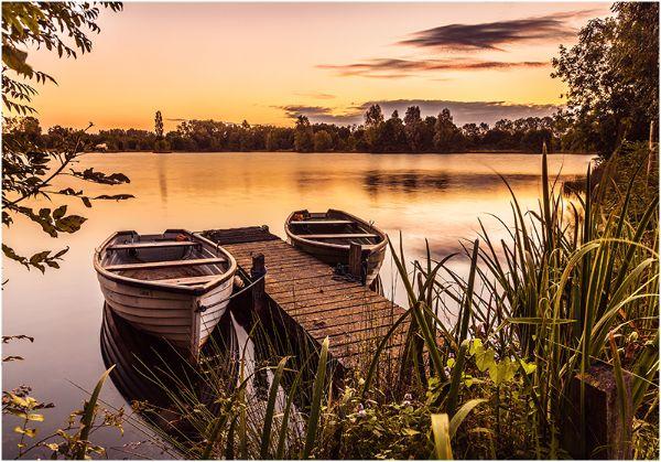 C Boats at Dawn