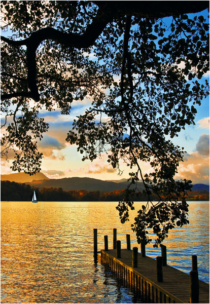 'C' Sailing into the Sunset, Windermere