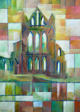 Renaissance in the Light, Whitby. Acrylic